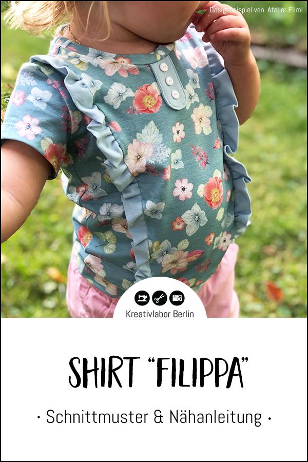 """Shirt """"Filippa"""" genäht von Atelier Elimi"""