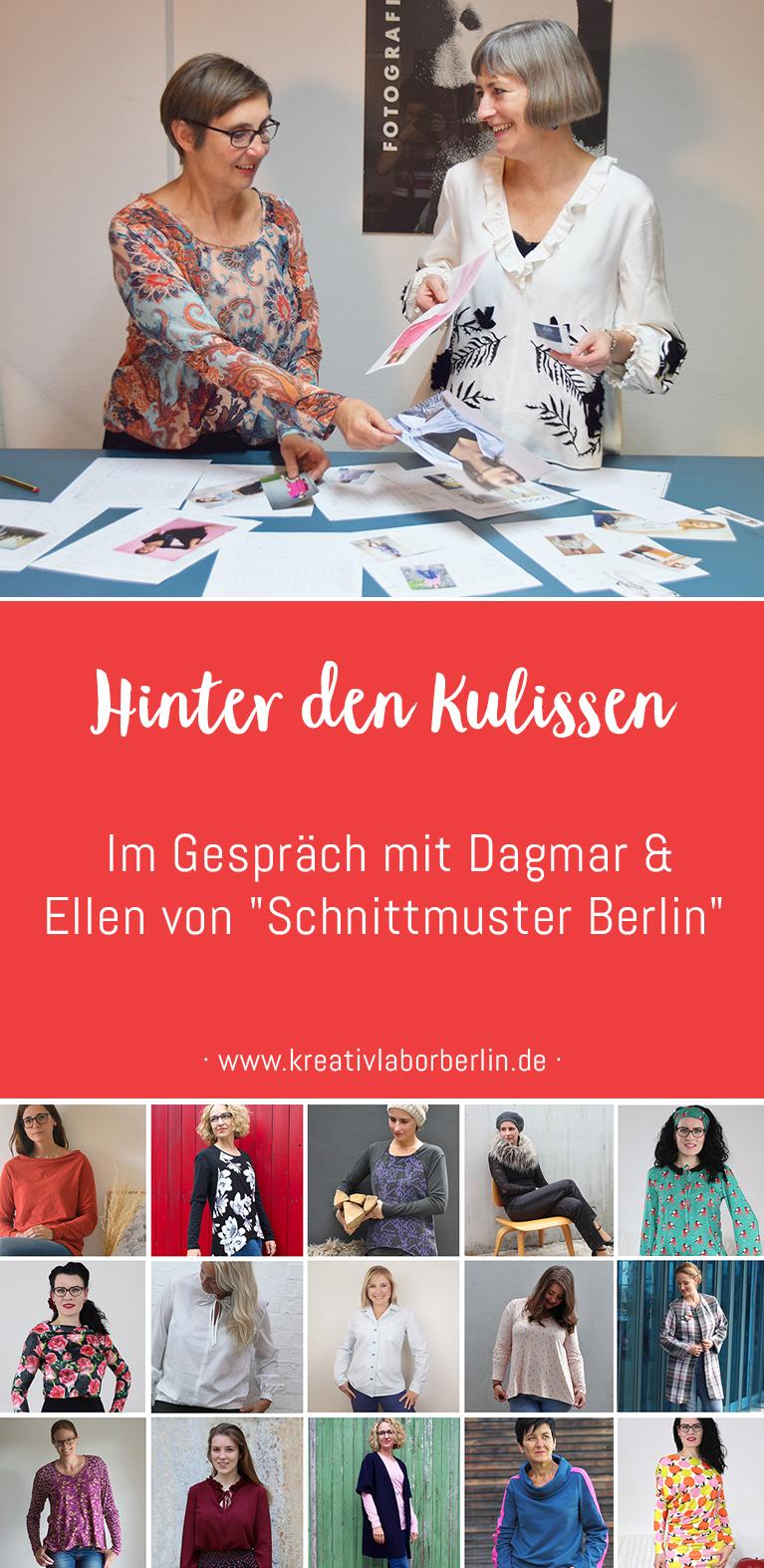 """Hinter den Kulissen: Im Gespräch mit Dagmar & Ellen von """"Schnittmuster Berlin"""""""