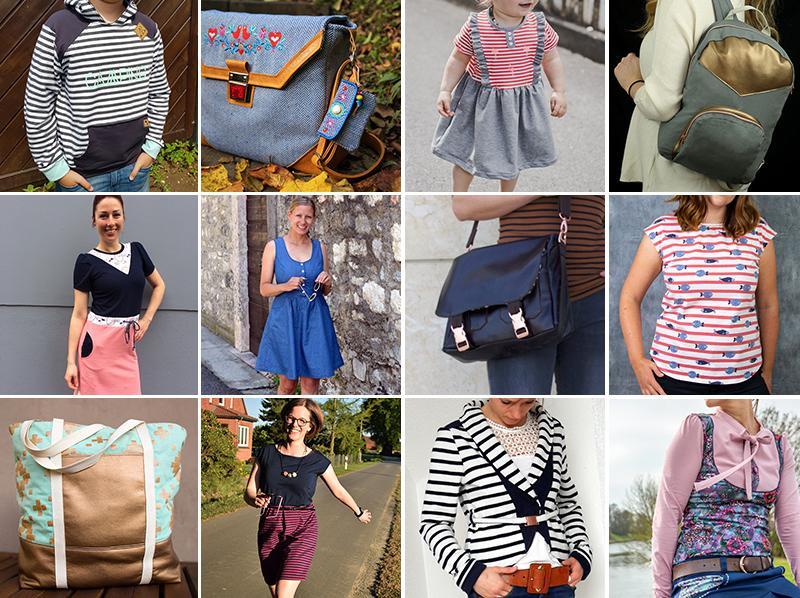 Schnittmuster  Kleidung & Taschen