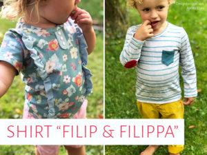 "Kinder-Shirts ""Filip & Filippa"""