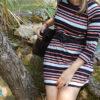 """Shirt """"Elina"""" genäht als Kleid von BumBees"""