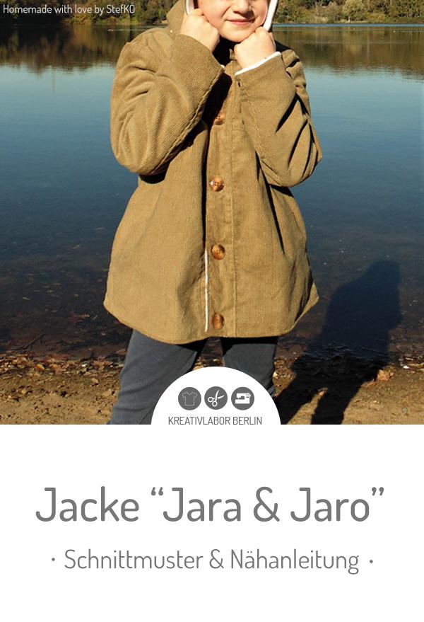 "Kinder-Jacke ""Jara & Jaro"""