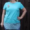 """Shirt """"Luna"""" genäht von Frau von Nadel"""