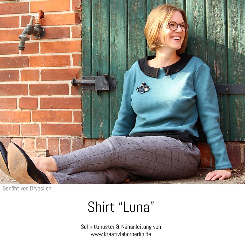 """Shirt """"Luna"""" genäht von Drypsilon"""
