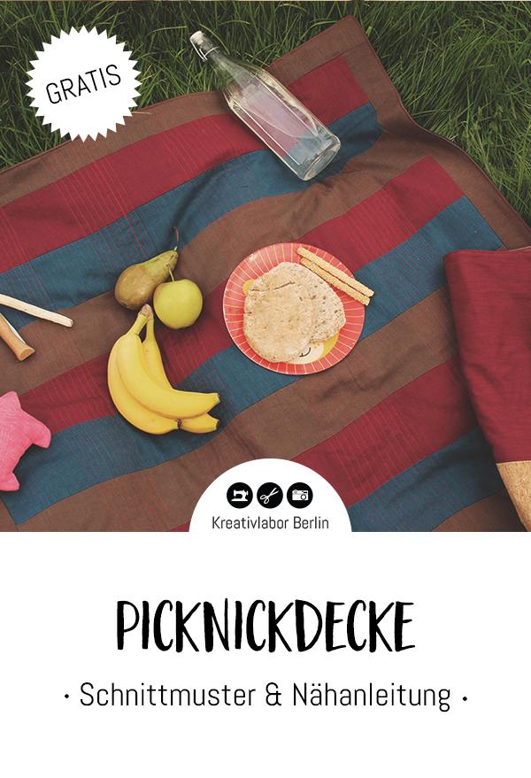 Patchwork-Picknickdecke