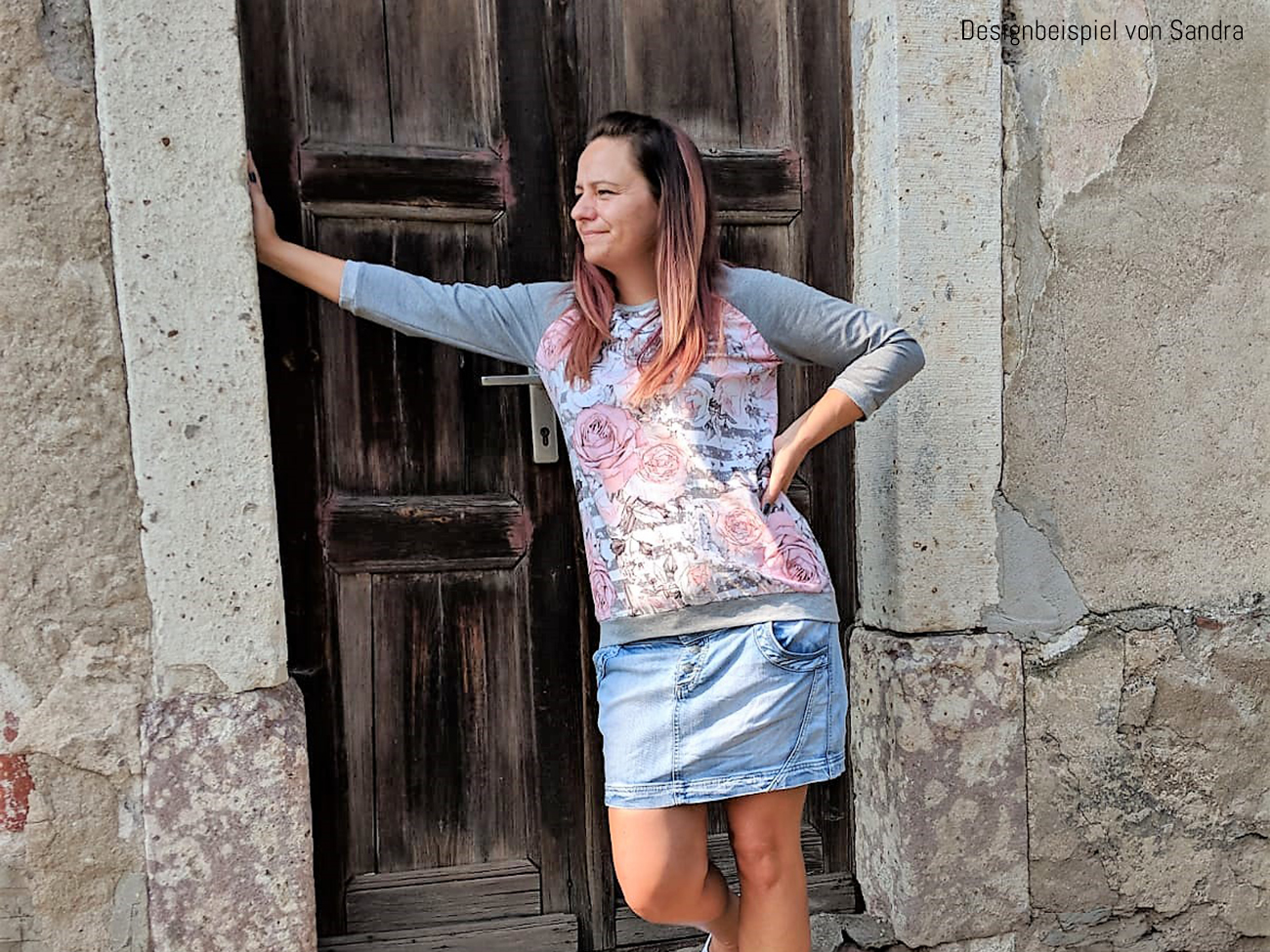 """Shirt """"Elina"""" genäht von Sandra"""