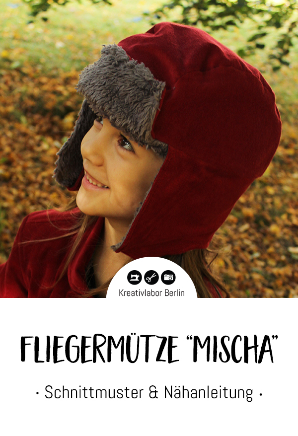 "Schnittmuster & Nähanleitung Fliegermütze ""Mischa"" (Kinder)"