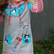 """Kleid & Shirt """"Mini-Mathilda"""""""