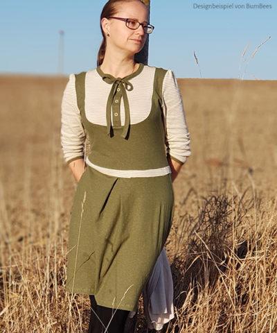 """Schnittmuster & Nähanleitung für das Kleid """"Masha"""""""