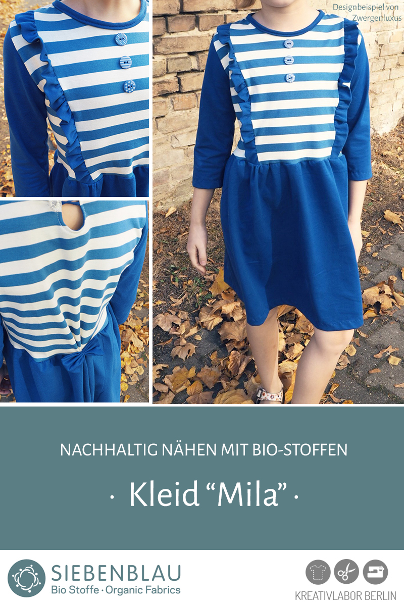 "Schnittmuster & Nähanleitung zum Kleid ""Mila"""