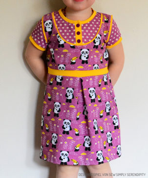 "Kinder-Kleid ""Mini-Masha"""