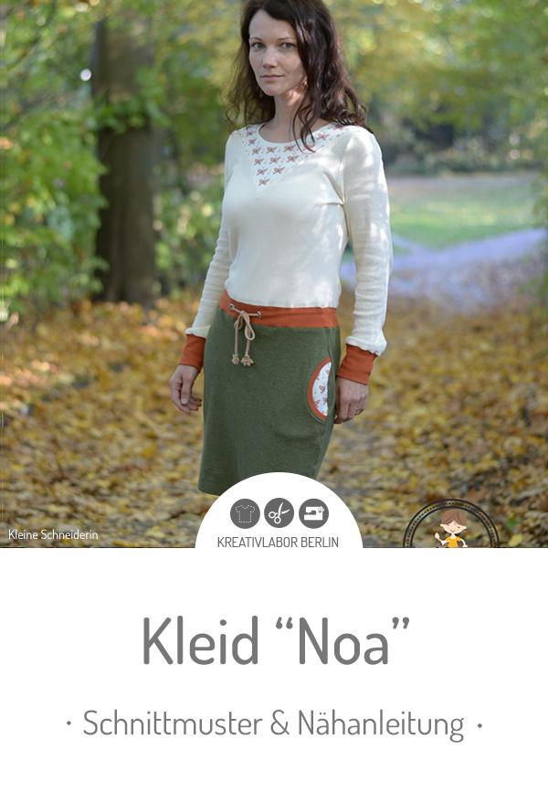 """Schnittmuster & Nähanleitung für das Kleid """"Noa"""""""