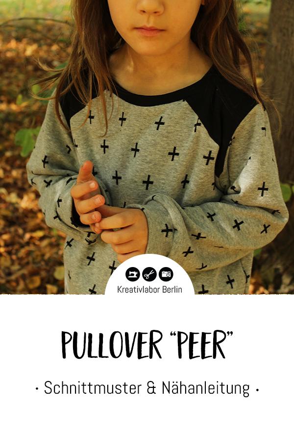 "Schnittmuster & Nähanleitung Pullover ""Peer"""