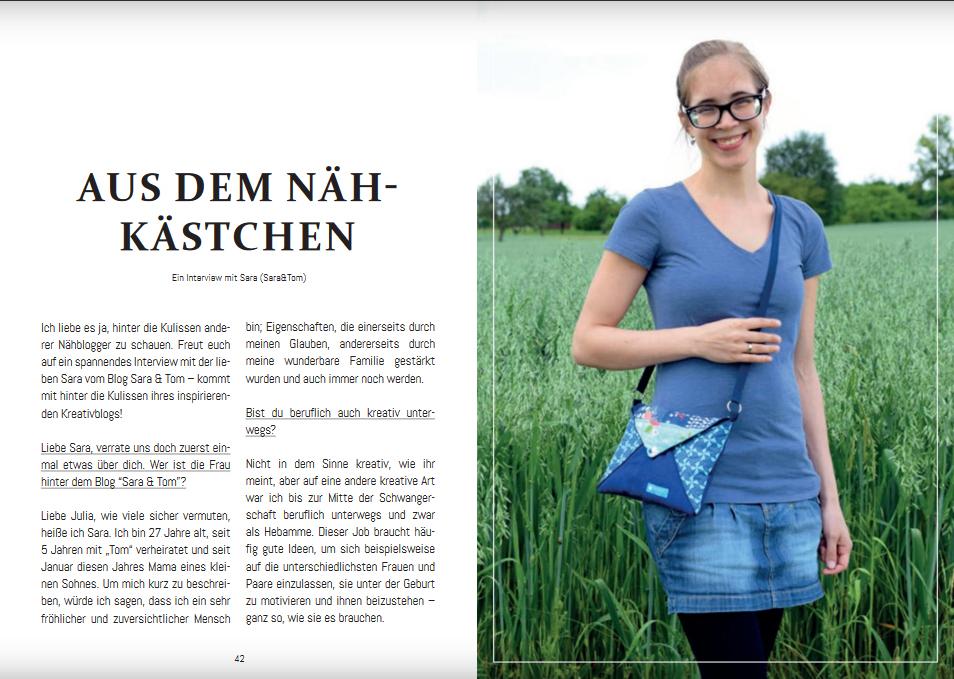 """Schnittmuster & Nähanleitung für die Tasche """"Linnea"""""""