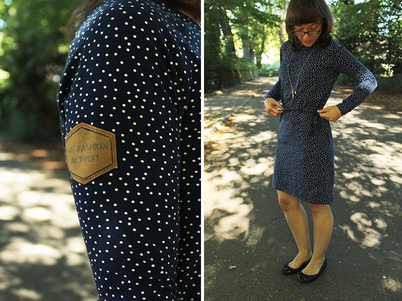 """Tutorial: Raglan-Shirt """"Elina"""" als Kleid nähen"""