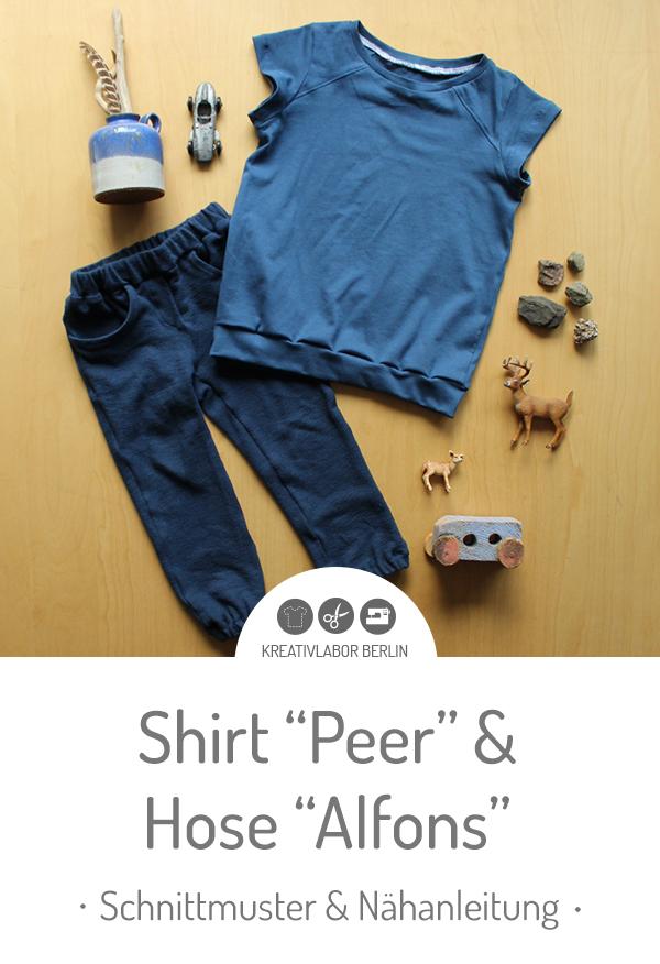 "Schnittmuster & Nähanleitung zum Pulli / Shirt ""Peer"""