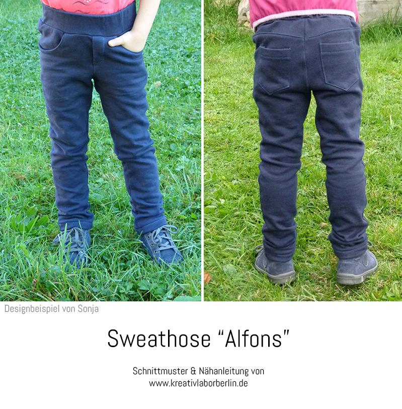 "Sweathose ""Alfons"" genäht von Naht im Wald"