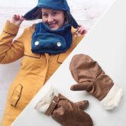 """Kombi-Set """"Winter"""": Mütze, Schal & Handschuhe"""