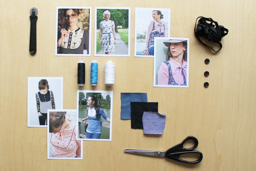 Nähvarianten & Inspirationen für Kleid & Shirt