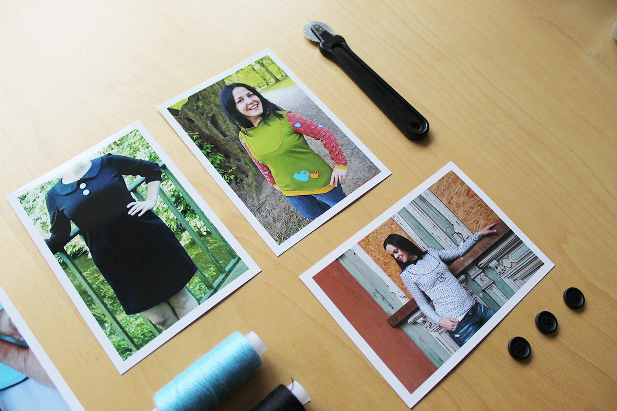 """Nähvarianten & Inspirationen für Kleid & Shirt """"Mathilda"""""""