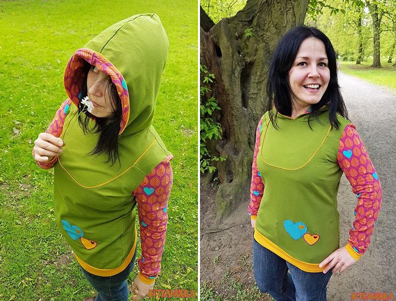Schnittmuster für Kleid & Shirt Mathilda