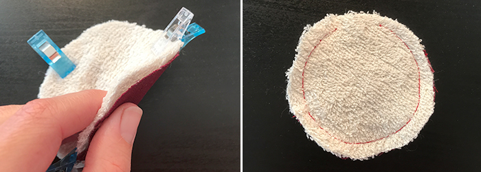 Nähanleitung: Wiederverwendbare Abschminkpads selber nähen