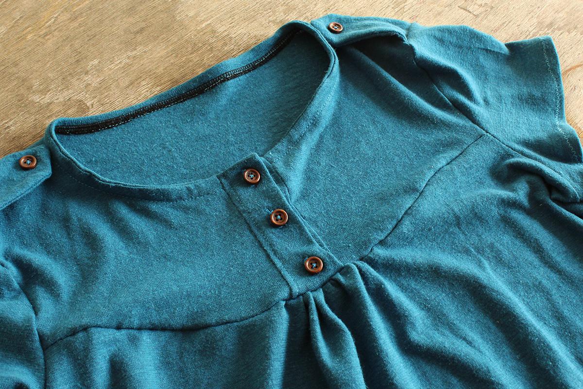 "Shirt ""Marla"" aus Hanfjersey"